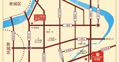 东方豪庭交通图