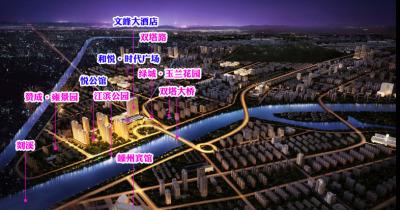 和悦时代广场交通图