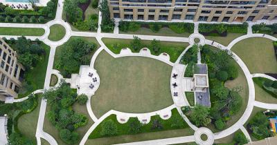 绿城·玉兰花园实景图