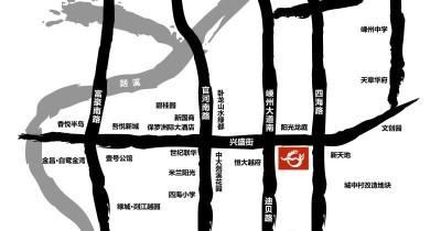 中国越剧艺术城实景图