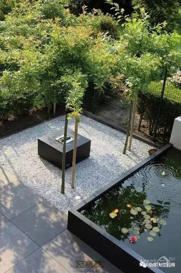 美!如果你有院子,一定要做个这样的鱼池~