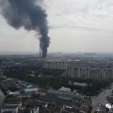 刚刚,齐贤突发大火!现场浓烟窜起数百米,袍江、柯桥都看到了……