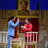 昨晚,这部根据嵊州本土故事改编的越剧原创现代戏在杭首演