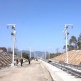 杭绍台铁路三界段下个月开始轨道铺设!近500名外地员工放弃返乡继续坚守岗位!