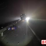 太可惜,嵊州高速应急车道上停车,一男子被撞身亡…