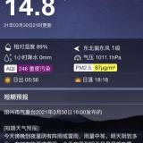 """上海一觉醒来仿佛在火星 ,嵊州沙尘""""爆表""""了吗?"""