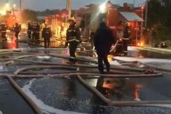 嵊州下洋棚村昨晚发生火灾