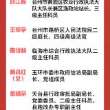 """浙江""""最美公务员""""揭晓,嵊州一人当选"""