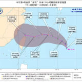 """最新!台风""""烟花""""最强或达14-15级,向浙江靠近"""