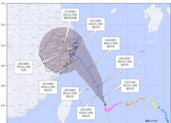 再升级!全省台风应急已提升为Ⅰ级,最大可能25日下午至26日凌晨登陆浙江地界...